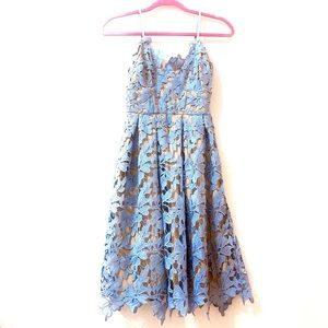 Love...Ady Lace Midi Dress